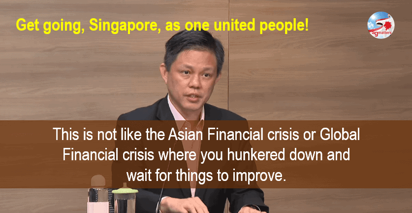evolving, 'Standing still' not an option in fast evolving ground realities: Chan Chun Sing