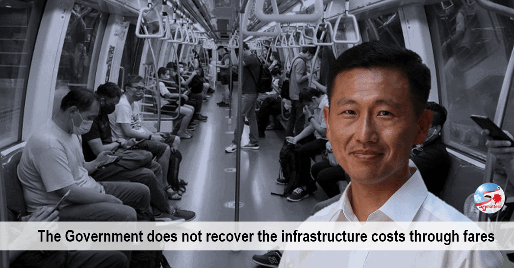 Public Transport System, $2 billion every year to subsidise the running of the public transport system