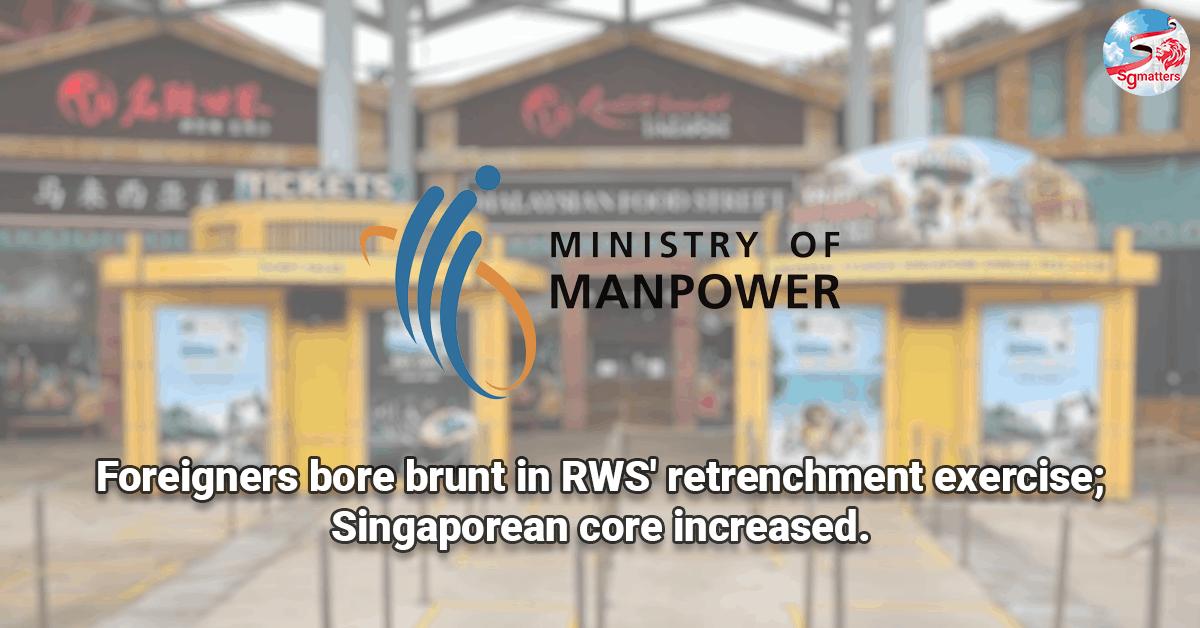 rws retrenchment singapore core ntuc