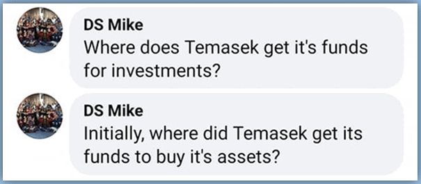 CPF, Temasek does not handle your CPF. Here's why.