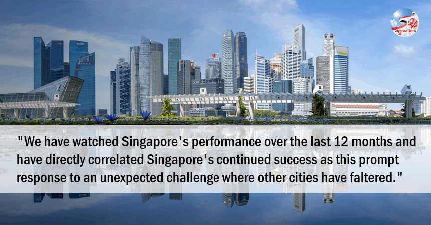 Smart city index, World's smartest city; Singapore lauded for COVID-19 response