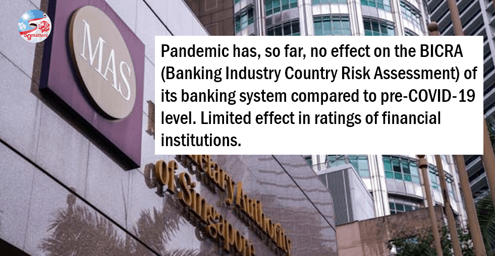 pandemic, Singapore among first countries to recover from pandemic effects: S&P Global Ratings on banking systems