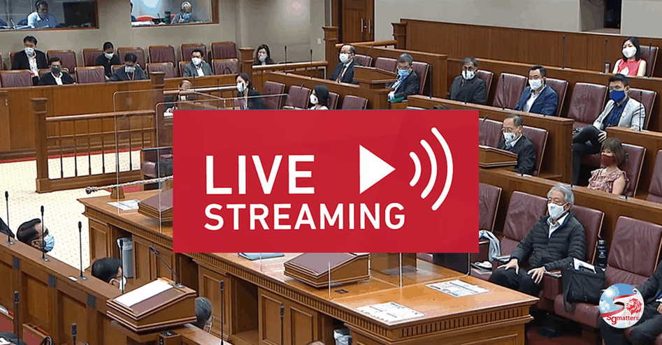 Parliamentary Live Streaming Singapore