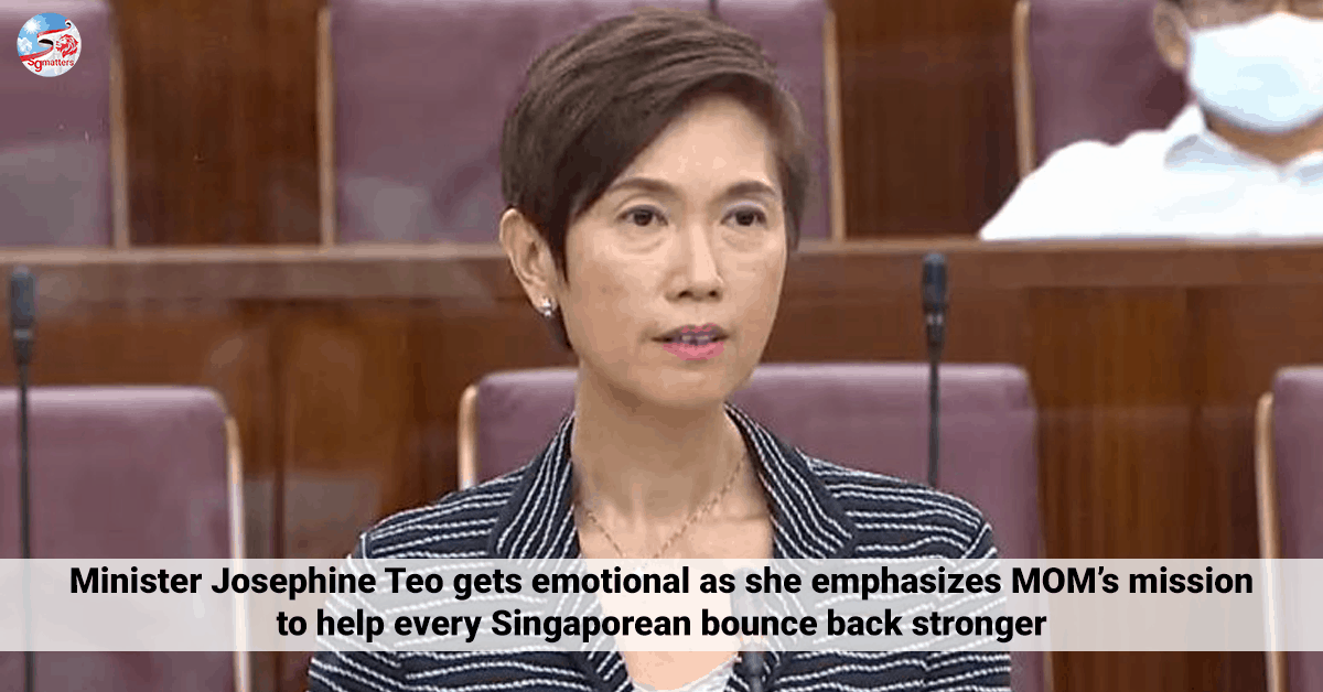 Minister Teo MOM Helping Singaporeans bounce back