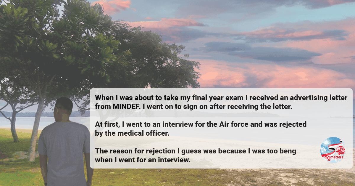 navy, A Singaporean son tells his story