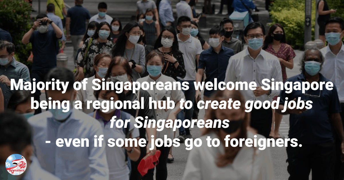 Singaporeans, Majority of Singaporeans remain open to foreigners; only a small percentage feels negative towards foreigners: REACH