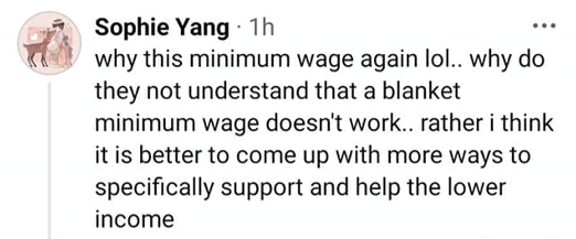 Pritam Singh, Pritam Singh calls for universal minimum wage; netizens react
