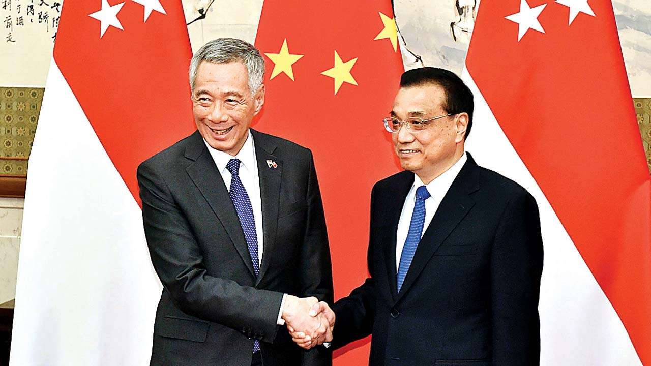 PM Lee congratulates China