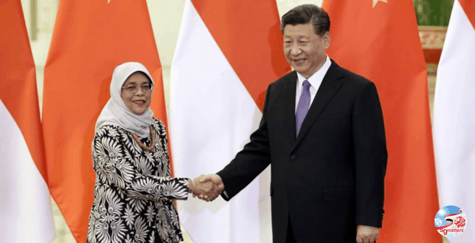 President Halimah congratulates People's Republic of China
