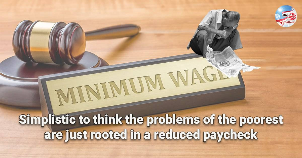 paycheck, Simplistic to think the problems of the poorest are just rooted in a reduced paycheck