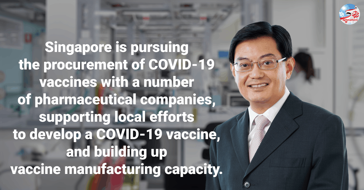 vaccine, We have worked out the steps to further re-open safely in the coming months: Heng Swee Keat
