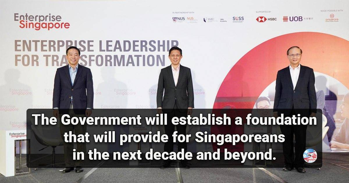 opportunity, COVID-19 is rare opportunity to turn crisis of a generation into opportunity of a generation, says Chan Chun Sing