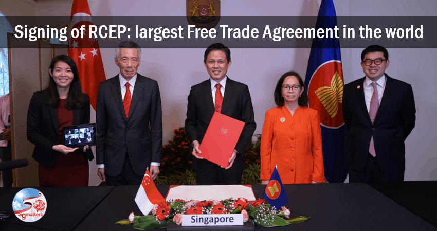 Signing of RCEP