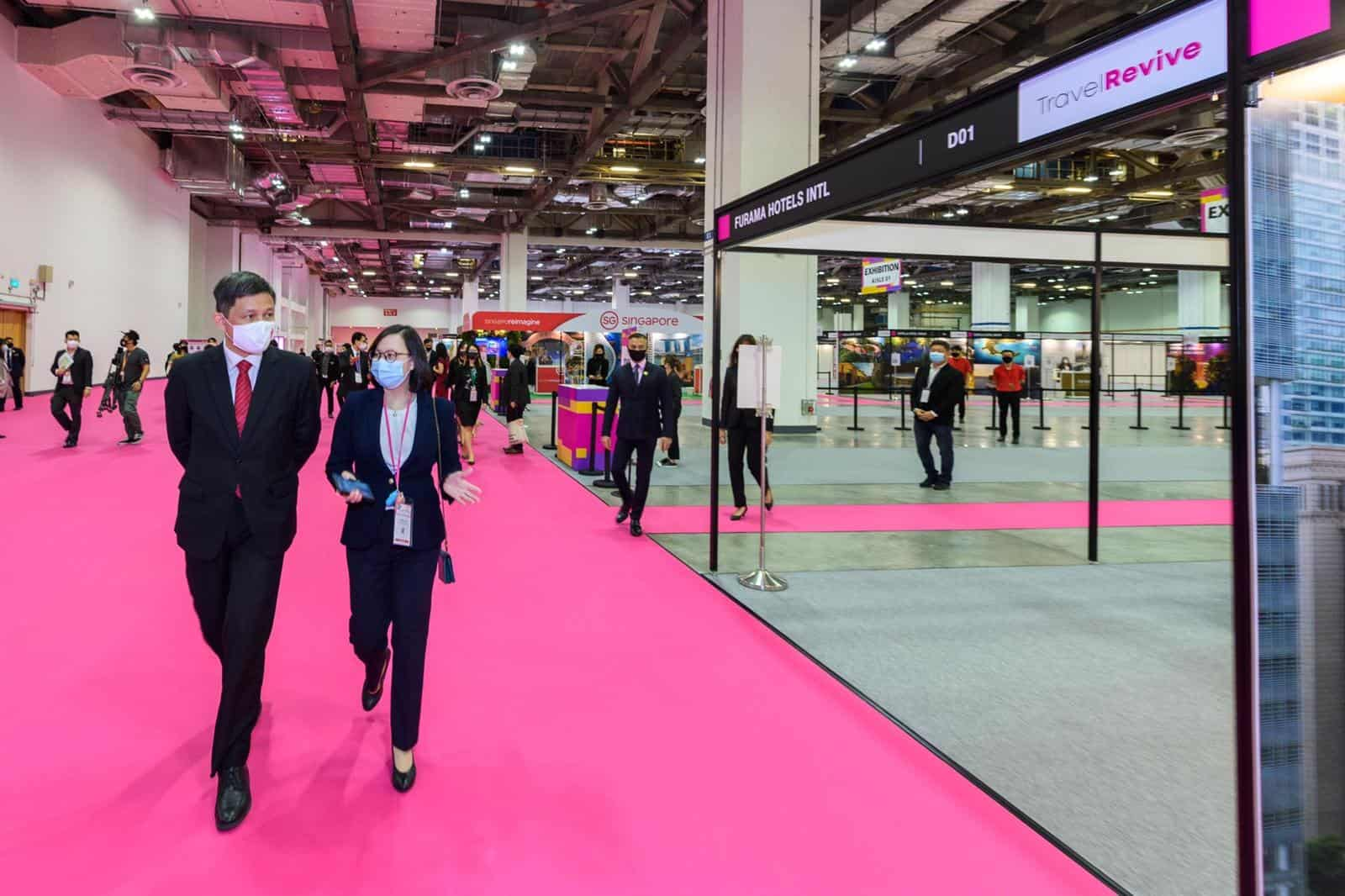 travel, Singapore pilots ways to reinvent global travel and activities like MICE