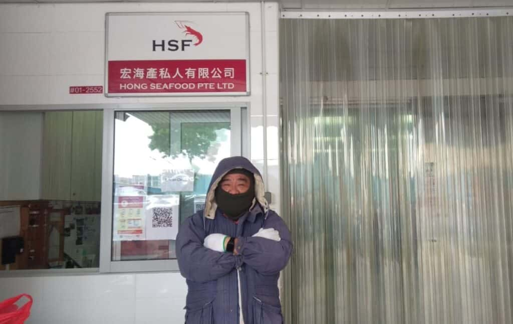Hong Seafood, Hong Seafood employee takes business online and helps colleagues retain jobs