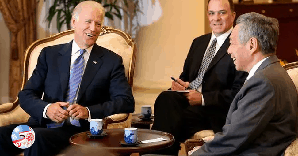 PM Lee congratulates Joe Biden