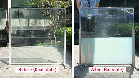 liquid window, 'Liquid window' developed by NTU researchers block the sun and turns thermal heat into useful energy