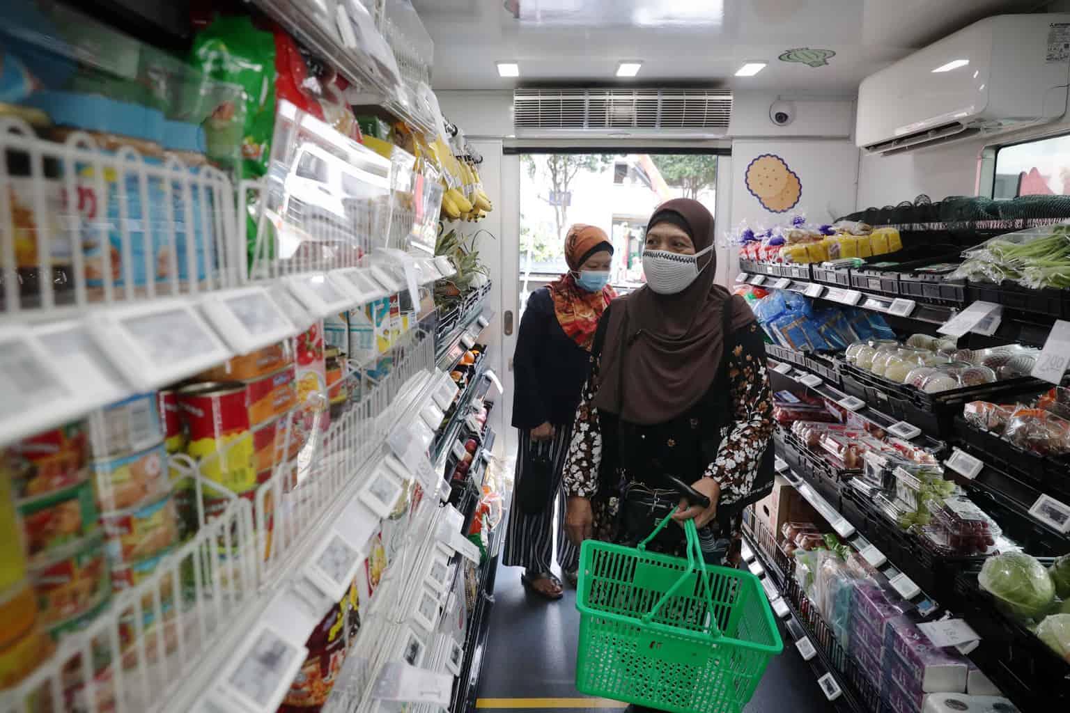 Fairprice, FairPrice on Wheels: Supermarkets made convenient for seniors