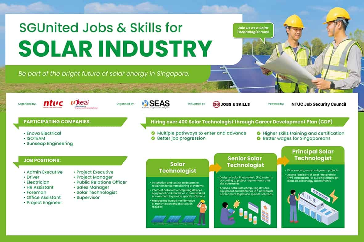 solar technologist, For a sustainable and 'clean' career, be a solar technologist