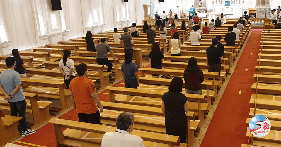 worship services with safe distancing