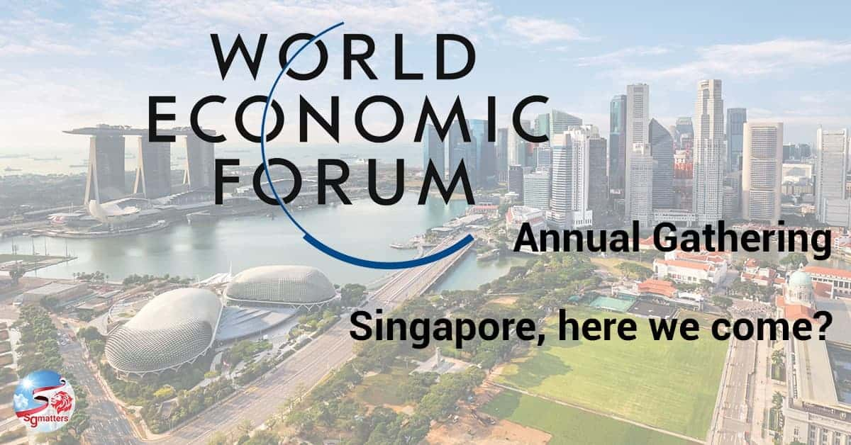 WEF, WEF considers moving annual Forum to Singapore amidst pandemic
