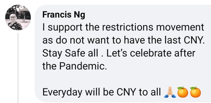 CNY 2021, Singaporeans respond to new restrictions ahead of CNY 2021 celebration