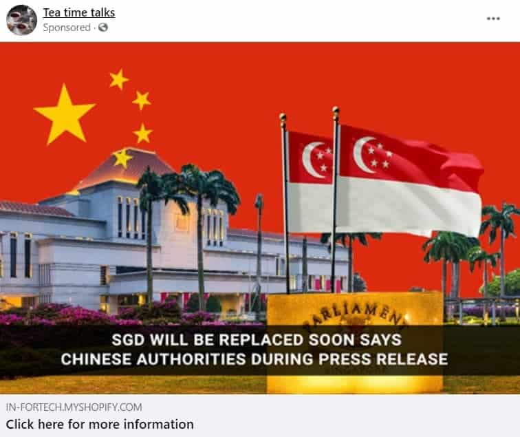 Singapore Dollar, Is it true that the Singapore Dollar will be replaced soon?