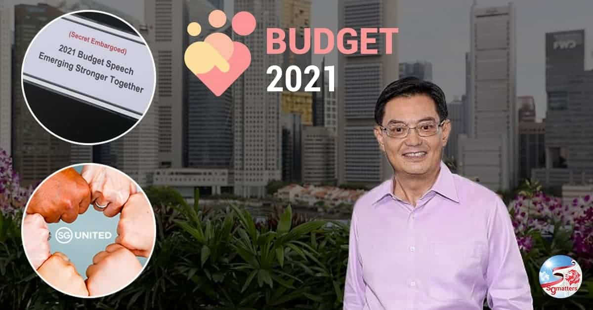 Singapore Budget 2021 - Emerging Stronger Together