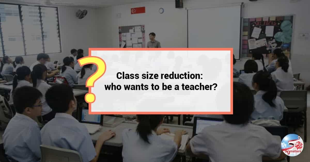 class size in singapore