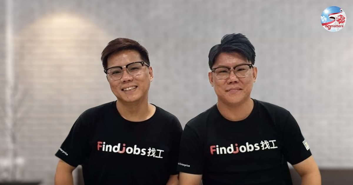 The Lims Brothers Set Up FindJobs To Help Lower Wage Workers in Singapore