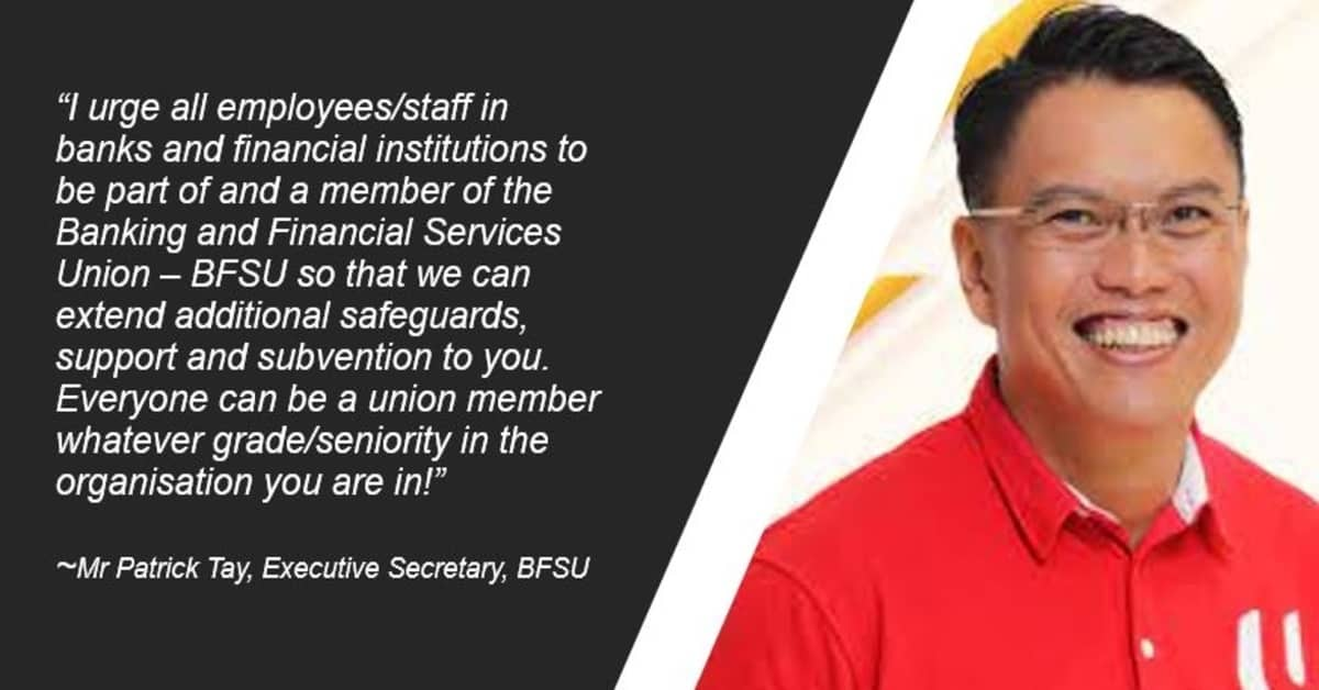 In a joint statement, Mr Patrick Tay, executive secretary of BSFU, and Mr Max Lim, president of SBEU, shared that union leaders will provide support, advice and assistance to affected employees by the retrenchment