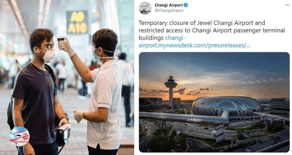 Special covid testing operation as Changi Airport Cluster grows