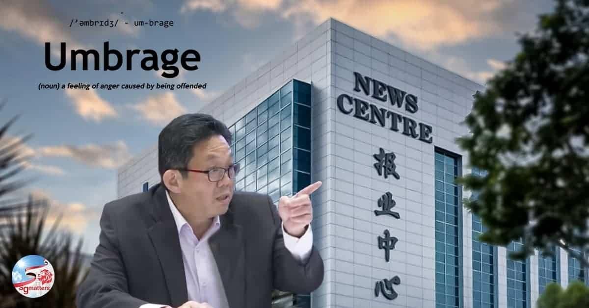 Ng Yat Chung, Taking umbrage at umbrage: what some netizens have to say