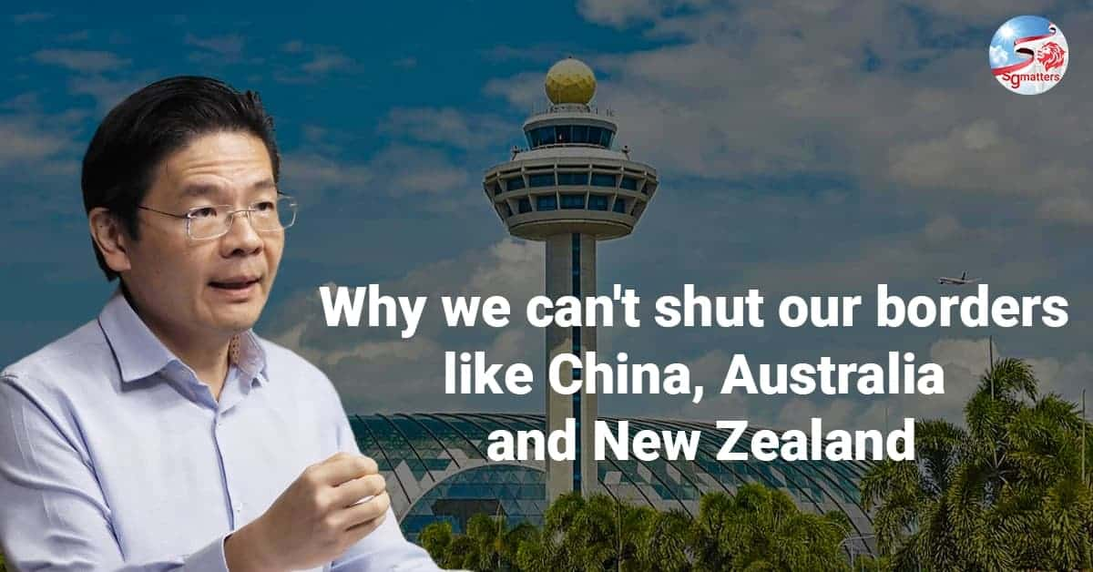 Why we can't shut our borders like China, Australia and New Zealand