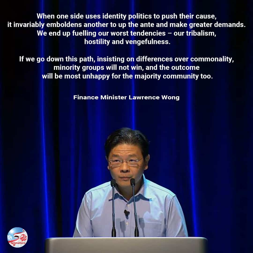 racism, Full text of Lawrence Wong's speech on race and racism