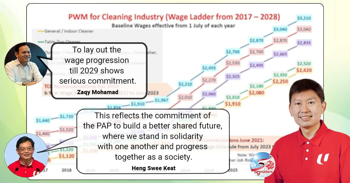 Government accepts higher wages proposed for Cleaners by Tripartite Cluster