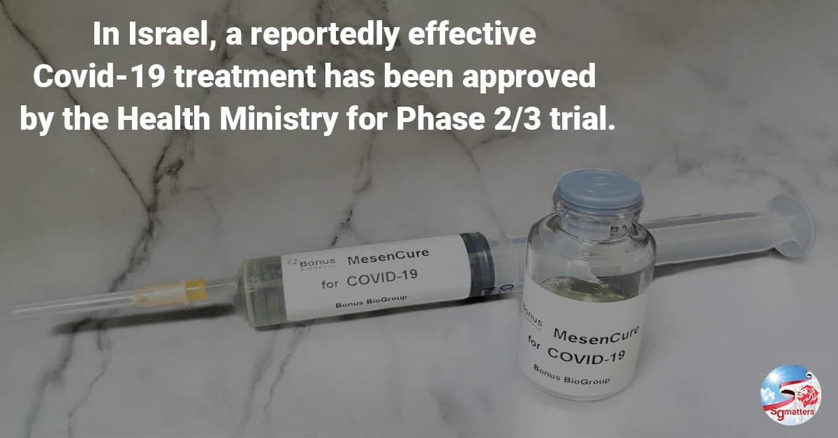 COVID-19 treatment, Hope for humanity: has Israel found the COVID-19 treatment?