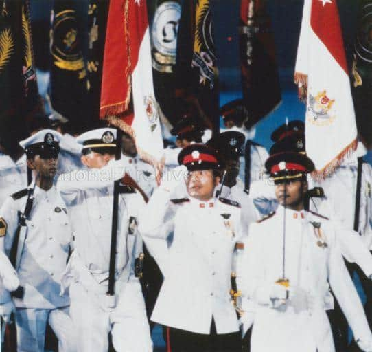 Malays in Singapore army
