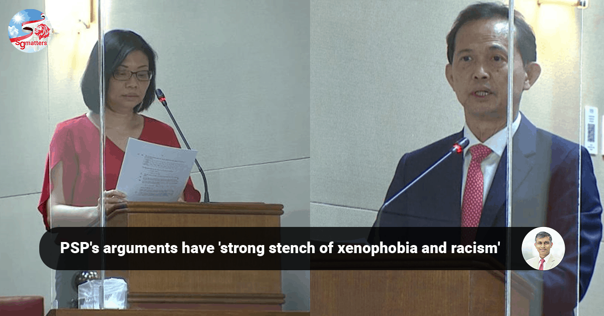 Hazel Poa, PSP's arguments have 'strong stench of xenophobia and racism', says CEO Devadas Krishnadas