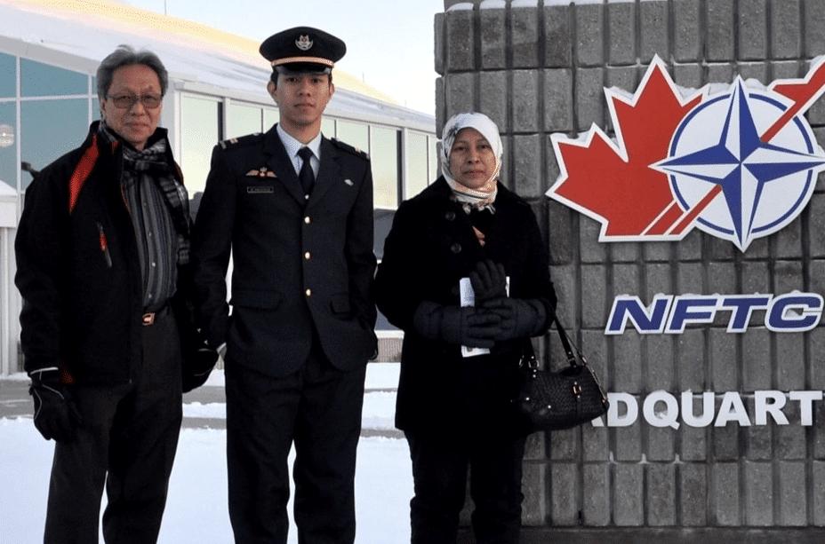 Muhammad Iskandar, F-15SG fighter pilot Muhammad Iskandar took to the sky on NDP 2021