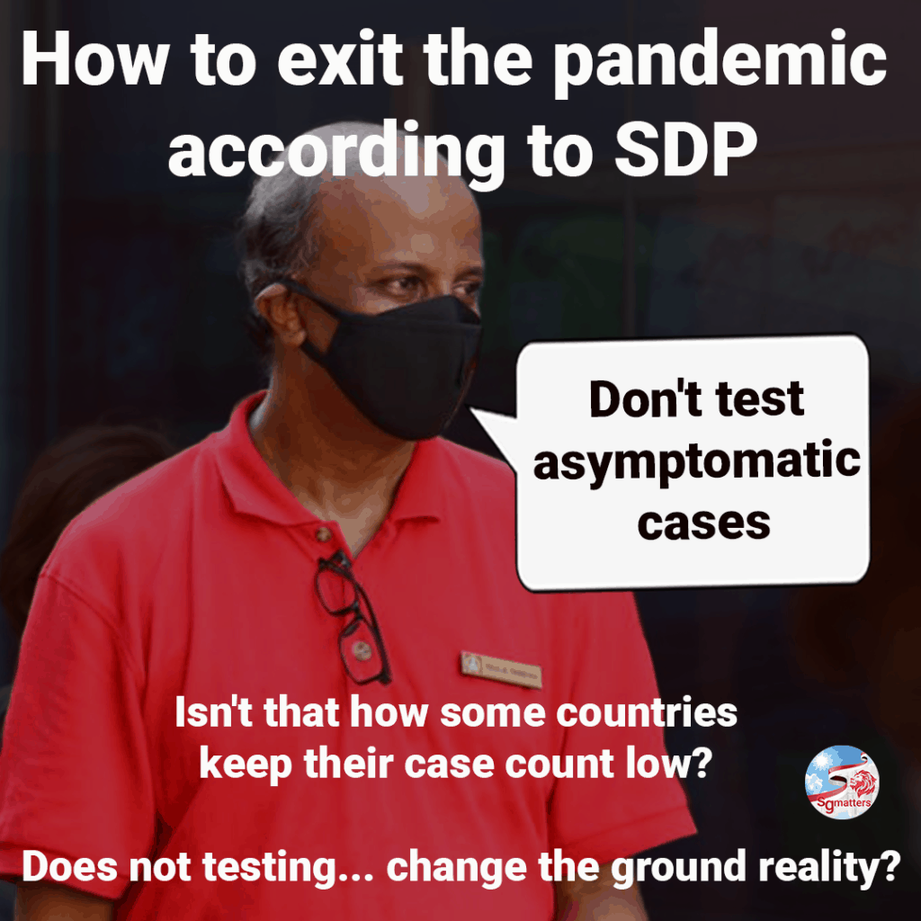 SDP, SDP's pandemic exit plan: don't test asymptomatic vaccinated people