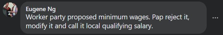 LQS, Netizens are confused and think that LQS is minimum wage