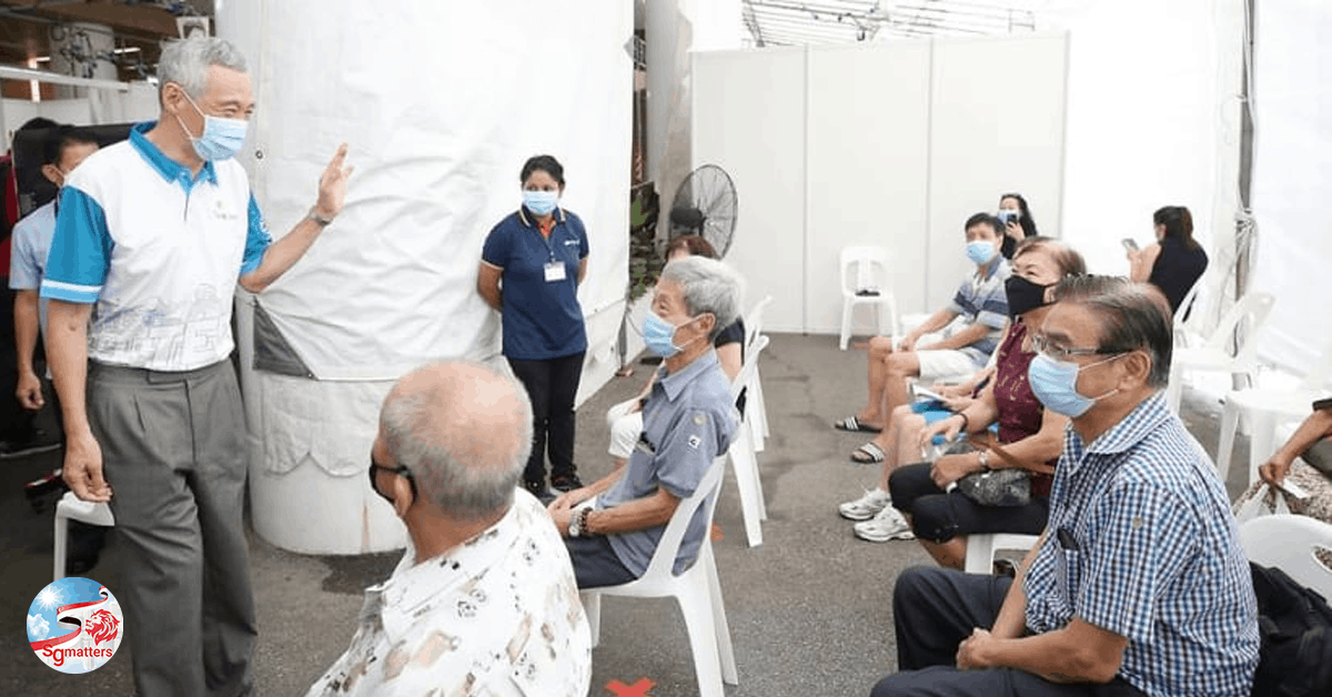 covid-19 singapore, Rite of passage: we're being tested as one nation, one people