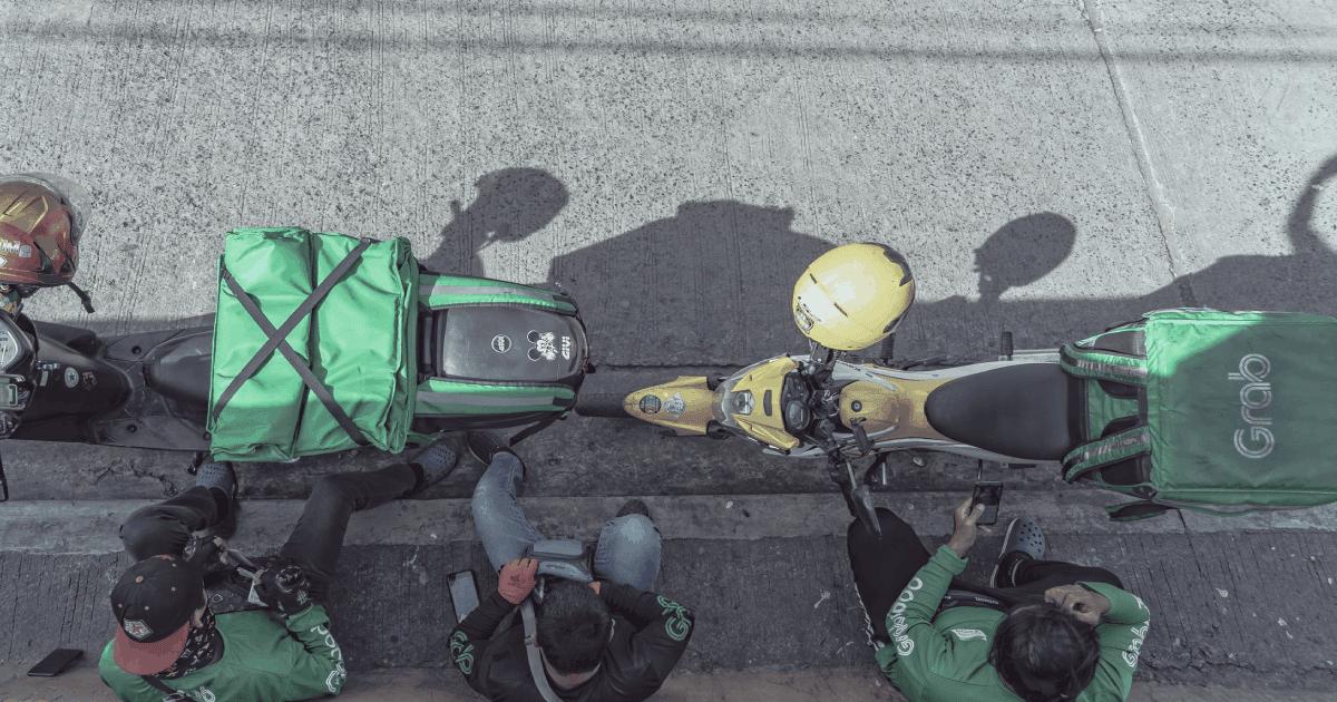 grab riders