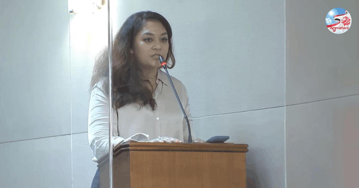 Raeesah Khan, Did WP Raeesah Khan accompany a rape victim to make a police report?