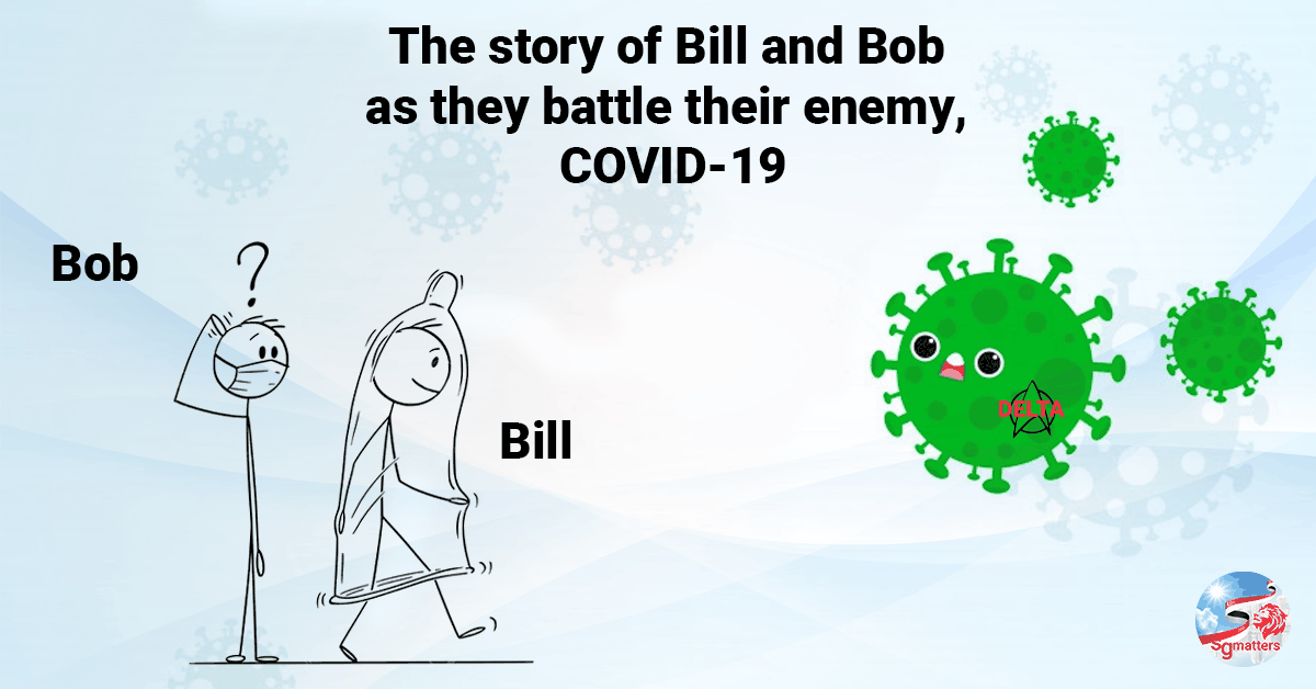 COVID-19, The story of Bill and Bob as they battle their enemy, COVID-19